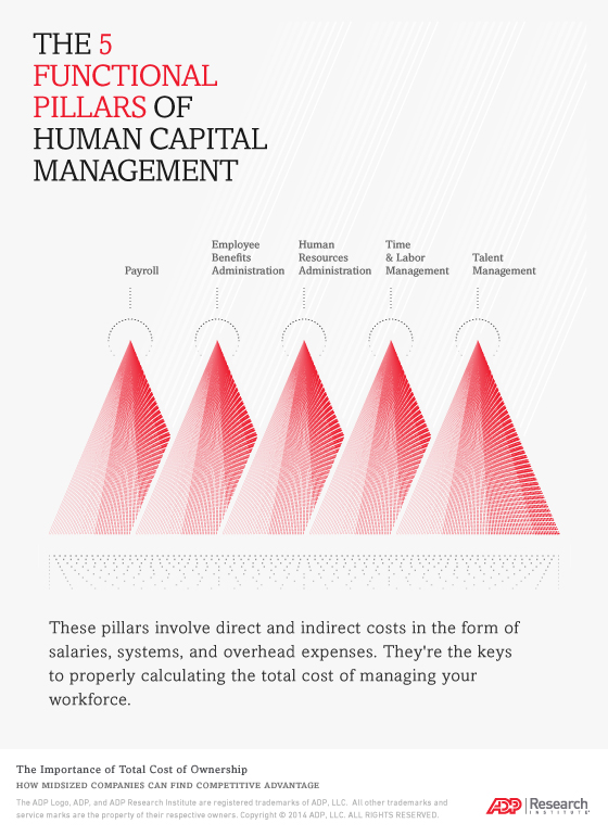 The 5 Functional Pillars of Human Capital Management